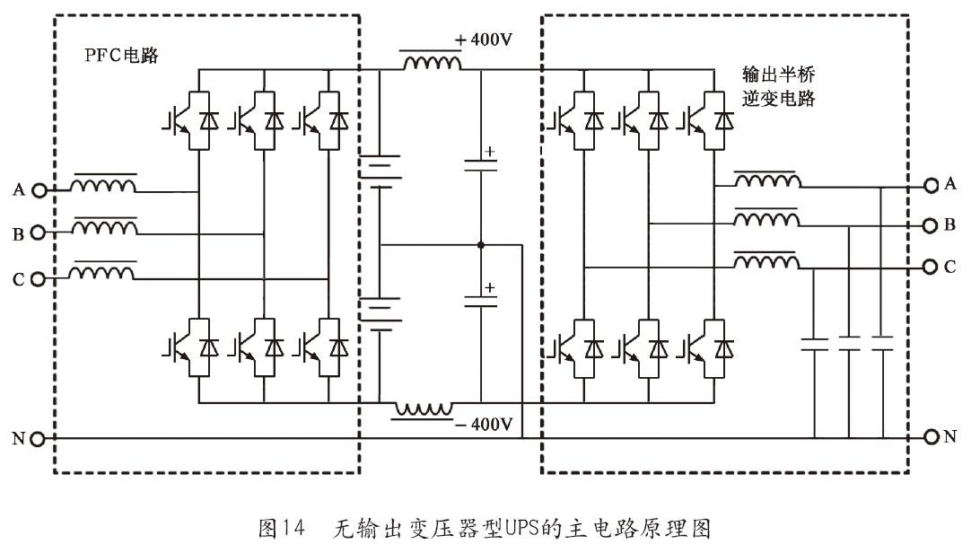 无输出变压器型ups技术的研究(中)_机房360_中国绿色
