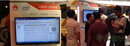 """全球领先的信息与通信解决方案供应商华为,近日在上海世博中心参加SAP论坛,展示了华为联络中心产品与SAP CRM的联合解决方案。   华为联络中心解决方案一直坚持开放、合作、共赢的理念,坚持""""被集成""""战略,主动适配CRM系统,简化迁移工作量。做为长期的战略合作伙伴,华为与SAP近日宣布推出了联合解决方案,将SAP CRM与华为联络中心平台无缝集成,让企业与客户的沟通与业务流程更好的融合,从营销到后续的服务和支持,都能给客户提供统一的、准确的服务体验,提升客户满意度和销售成功率。"""