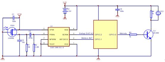 上图2是结合传统模拟探头的典型应用电路