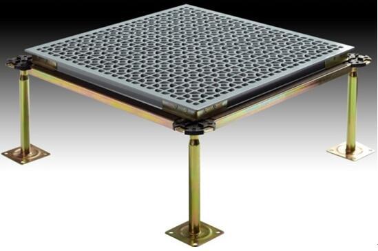 防静电地板:智慧通A1000铝合金高架通风地板
