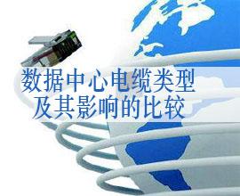 企业数据中心电缆类型及其影响的比较