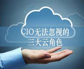 CIO无法忽视的三大云角色